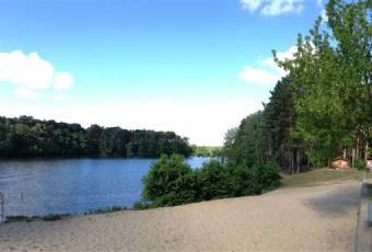 Klassenfahrtenfuchs - Klassenfahrt Prieros - Badestrand am Huschtesee