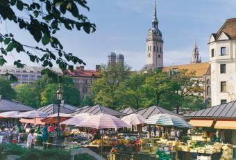 Klassenfahrtenfuchs - Klassenfahrt München - Viktualienmarkt