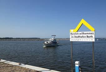 Klassenfahrtenfuchs - Klassenfahrt Darßer Boddenküste - Stadthafen Barth