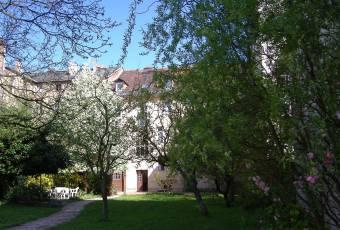 Klassenfahrtenfuchs Klassenfahrt Potsdam - Ansicht vom Garten