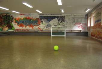 Klassenfahrtenfuchs Klassenfahrt Boddenküste - Soccerraum