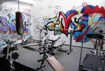 Klassenfahrtenfuchs Klassenfahrt Boddenküste - Fitnessecke