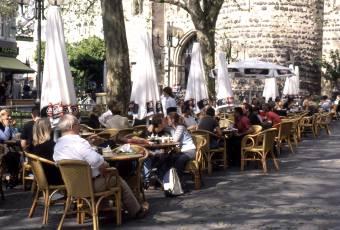 Klassenfahrtenfuchs - Klassenfahrt nach Bonn - Cafe am Bottlerplatz