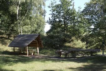 Klassenfahrt nach Grethen - Gelände der Unterkunft