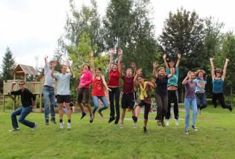 Klassenfahrtenfuchs - Klassenfahrt Rittergut - Gruppe aktiv
