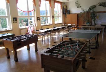 Klassenfahrtenfuchs Klassenfahrt Thüringer Abenteuerland - Aufenthalsraum/Speisesaal