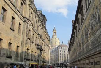 Klassenfahrtenfuchs - Klassenfahrt nach Dresden - Altstadt mit Fürstenzug