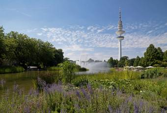Klassenfahrtenfuchs - Klassenfahrt Hamburg - Planten un Blomen mit Fernsehturm