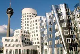 Klassenfahrtenfuchs - Klassenfahrt Düsseldorf - Gehry-Bauten