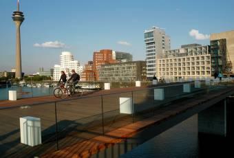 Klassenfahrtenfuchs - Klassenfahrt Düsseldorf - Medienhafen