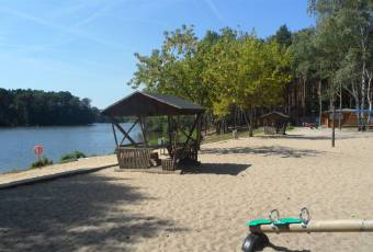 Klassenfahrtenfuchs - Klassenfahrt Prieros - Sandstrand am Huschtesee