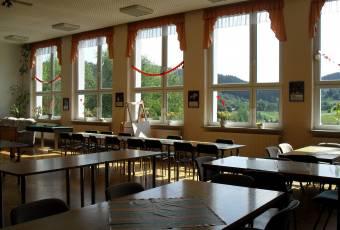 Klassenfahrtenfuchs Klassenfahrt Thüringer Abenteuerland - Speisesaal