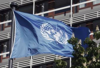 Klassenfahrtenfuchs - Klassenfahrt nach Bonn - UN Flagge