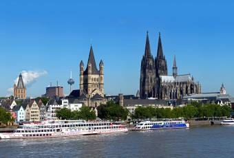 Klassenfahrtenfuchs - Klassenfahrt nach Köln - Rheinpanorama