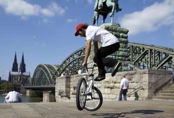 Klassenfahrtenfuchs - Klassenfahrt nach Köln - BMX-Artistik