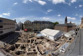 Klassenfahrtenfuchs - Klassenfahrt nach Köln - Archäologische Zone