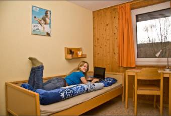 Klassenfahrtenfuchs - Klassenfahrt Burgensteig Waldhessen - Zimmerbeispiel