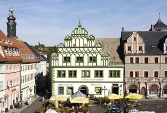 Klassenfahrtenfuchs - Klassenfahrt Weimar - Marktplatz Weimar