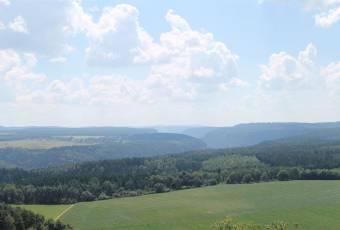 Klassenfahrtenfuchs - Klassenfahrt Saechsische Schweiz - Blick ins tschechische Elbtal