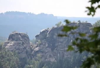 Klassenfahrtenfuchs - Klassenfahrt Saechsische Schweiz - Felsformation