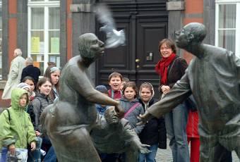 Klassenfahrtenfuchs - Klassenfahrt Aachen - Kreislauf des Geldes mit Kindern