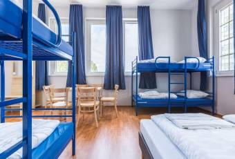 Klassenfahrt nach Salzburg – Klassenfahrtenfuchs – A+O Salzburg Zimmerbeispiel 6er