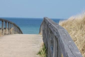Klassenfahrtenfuchs - Klassenfahrt Weissenhäuser Strand - Strandzugang