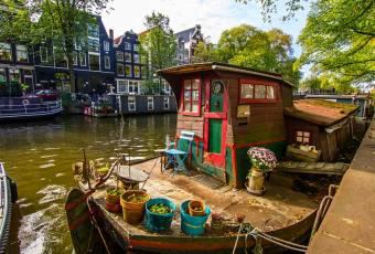 Klassenfahrt nach Amsterdam – Klassenfahrtenfuchs – Amsterdam Buntes Boot