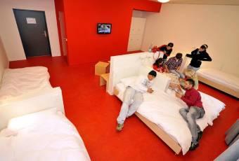 Klassenfahrtenfuchs - Klassenfahrt Bremerhaven - havenhostel Sechsbettzimmer