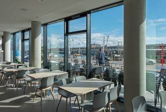 Klassenfahrtenfuchs - Klassenfahrt Cuxhaven - havenhostel Ausblick
