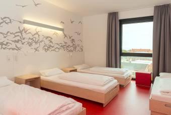 Klassenfahrtenfuchs - Klassenfahrt Cuxhaven - havenhostel Vierbettzimmer