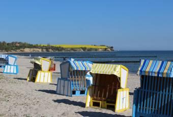 Klassenfahrtenfuchs - Klassenfahrt Boltenhagen - Strandkörbe