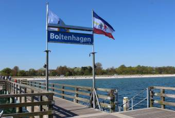 Klassenfahrtenfuchs - Klassenfahrt Boltenhagen - Seebrücke