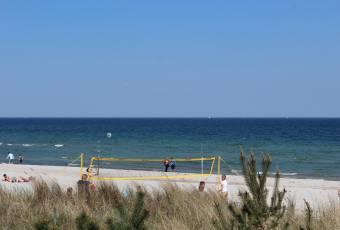 Klassenfahrtenfuchs - Klassenfahrt Boltenhagen - Beachvolleyballfeld