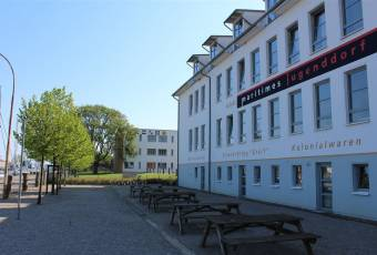 Klassenfahrtenfuchs - Klassenfahrt Greifswald - Klassenfahrtenfuchs - Klassenfahrt Greifswald - MaJuWi Hauptgebäude
