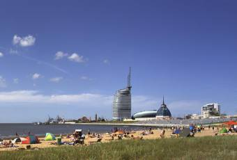 Klassenfahrtenfuchs - Klassenfahrt Bremerhaven - Weserdeich