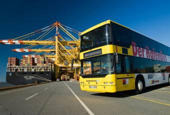 Tour des Hafenbuses. Foto: Markus Abeling