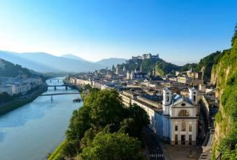 Klassenfahrt nach Salzburg – Klassenfahrtenfuchs - Blick vom Mönchsberg