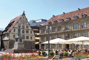 Klassenfahrtenfuchs - Klassenfahrt Stuttgart - Schillerplatz