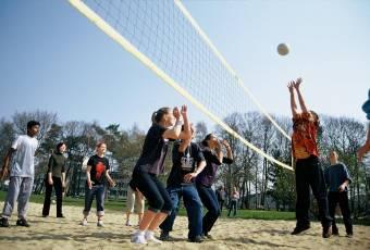 Klassenfahrtenfuchs - Klassenfahrt Weissenhäuser Strand - Volleyball
