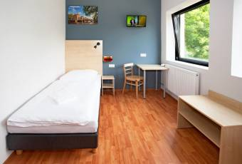 Klassenfahrt nach Amsterdam – Klassenfahrtenfuchs – A+O Hostel Amsterdam Einzelzimmer