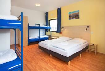 Klassenfahrt nach Amsterdam – Klassenfahrtenfuchs – A+O Hostel Amsterdam Mehrbettzimmer