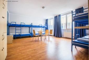 Klassenfahrt nach Bremen - A&O Hostel Mehrbettzimmer