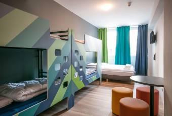 Klassenfahrtenfuchs - Klassenfahrt Bremen - A&O Hostel Hauptbahnhof - Mehrbettzimmer
