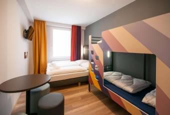 Klassenfahrtenfuchs - Klassenfahrt Bremen - A&O Hostel Hauptbahnhof - Familienzimmer 4er