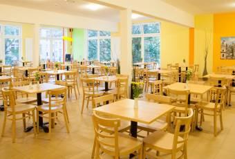 Klassenfahrtenfuchs - Klassenfahrt Aachen - Frühstücksraum