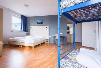 Klassenfahrt Ruhrgebiet - A&O Hostel Dortmund - Familyzimmer