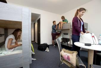Klassenfahrtenfuchs - Klassenfahrt Duisburg - City Hostel Sportpark - Mehrbettzimmer