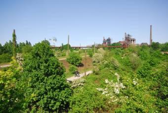 Klassenfahrtenfuchs - Klassenfahrt Ruhrgebiet - Duisburg - Landschaftspark Parkgelände