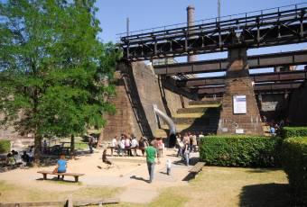 Klassenfahrtenfuchs - Klassenfahrt Ruhrgebiet - Duisburg - Landschaftspark Spielplatz